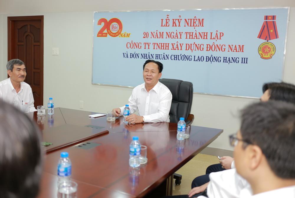 Lễ kỹ niệm 24 năm thành lập Công ty TNHH Xây dựng Đông Nam ngày (05/09/1994 – 05/09/2018)